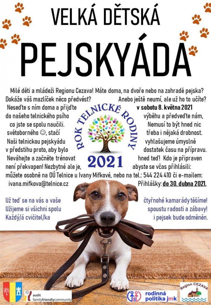 Velká dětská pejskyáda Cezava - 2021