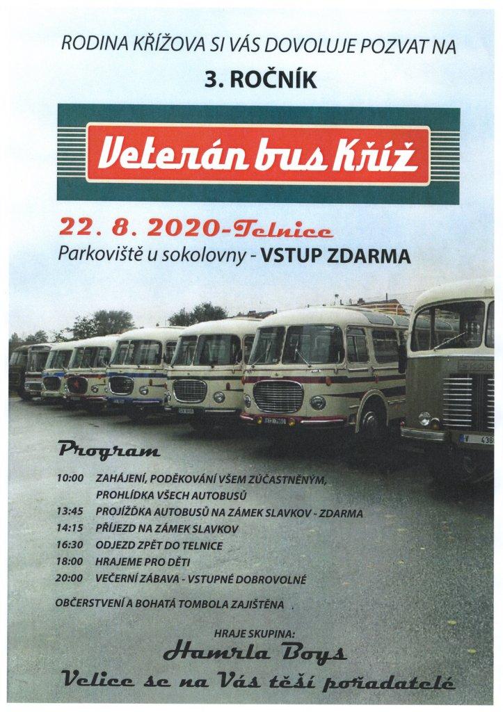Veterán bus Kříž
