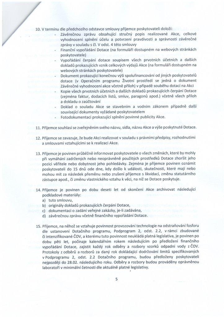 Smlouva dotace - kanalizace (5)