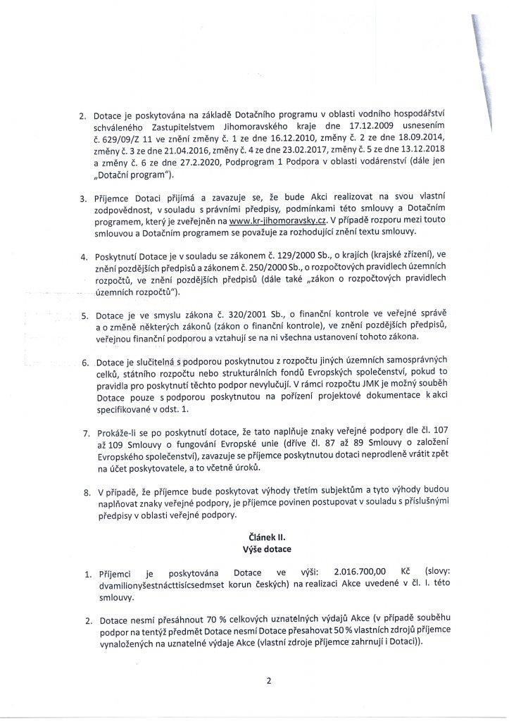 Smlouva dotace - vodovod (2)