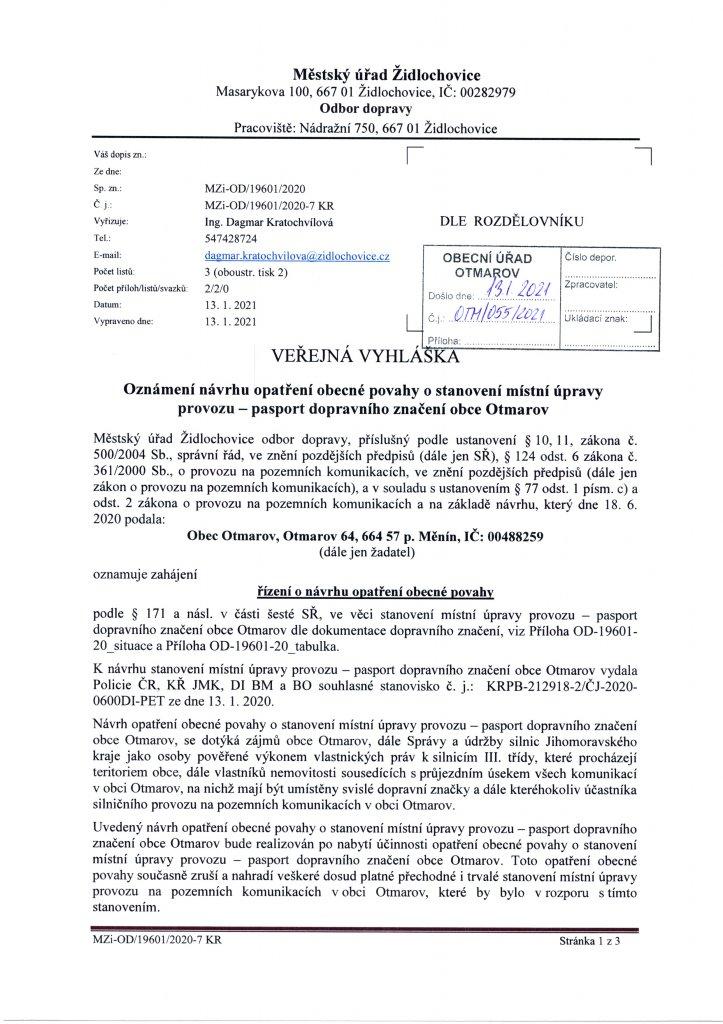 Vyhláška - pasport DZ (1)